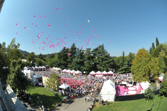 20.000 partecipanti a Race for the Cure