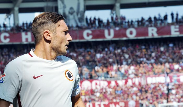 Totti, Malagò plaude a tifosi Torino