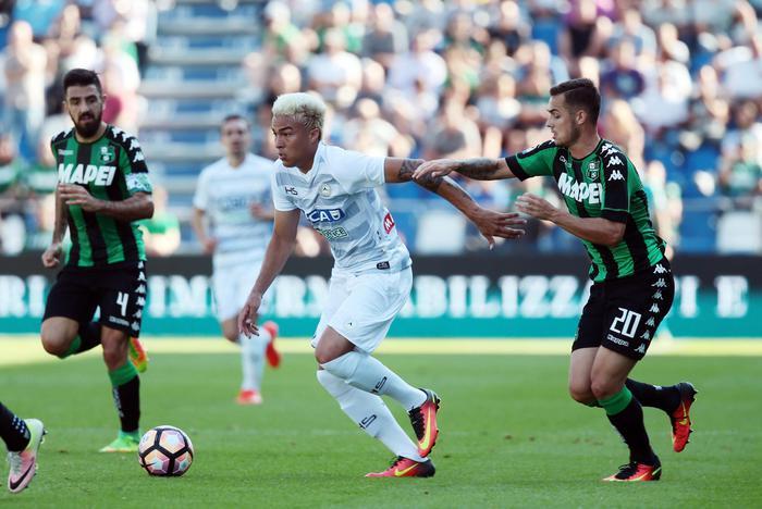 Calcio: Sassuolo-Udinese 1-0