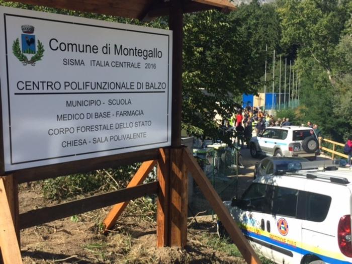 Inaugurata 'cittadella' E-R a Montegallo