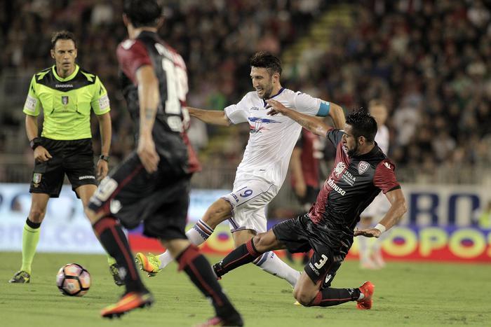 Serie A: Crotone Atalanta 1-3, Cagliari Sampdoria 2-1
