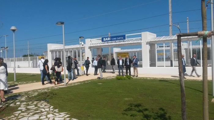 Nuova stazione ferrovia Lungomare Bari