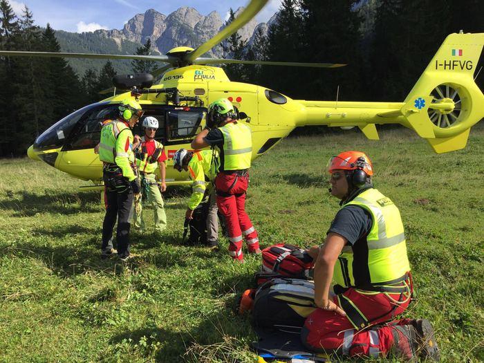 Incidenti montagna: ferito alpinista su Cima del Vallone
