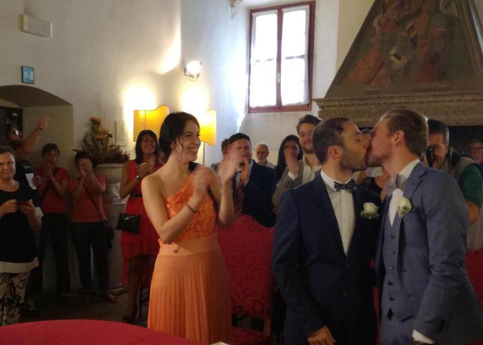 Unioni civili: prime nozze gay in città del Concilio