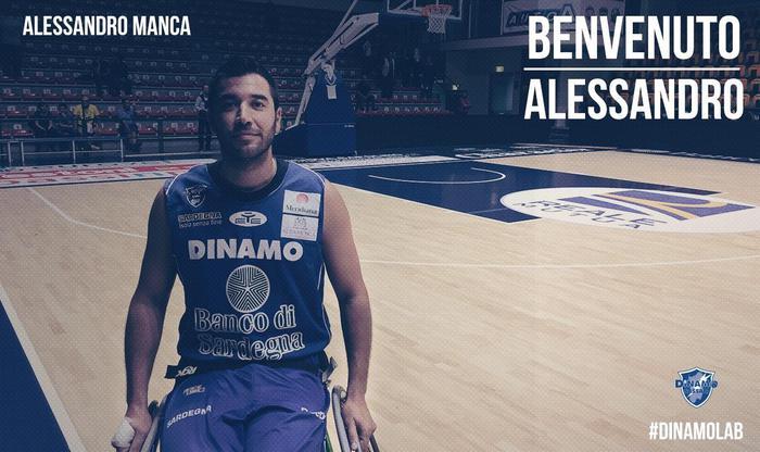 Basket: Alessandro Manca alla Dinamo Lab