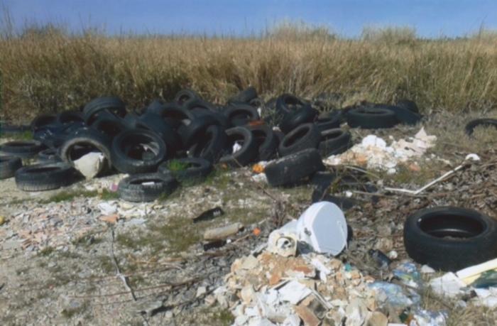 Mega discarica in area protetta Sic