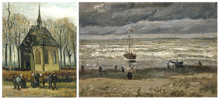2 Van Gogh-malerier fundet i Italien