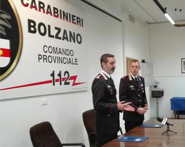 Pigozzo guida reparto operativo Bolzano