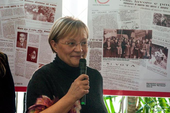 Mostre: 70 anni voto donne, successo E-R