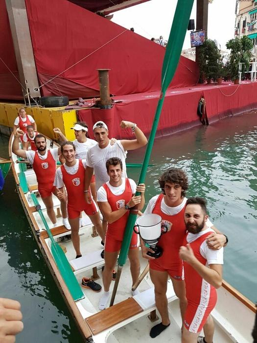 Venezia:regata storica,Cus Bari in festa