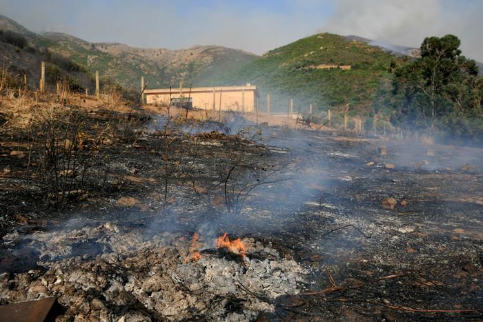 Incendi: telerilevamento al palo