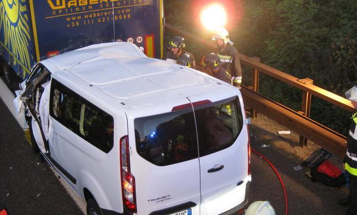 Un morto e 4 feriti su Autobrennero