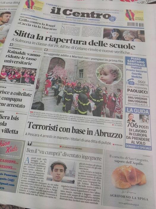 Luigi Pierangeli compra 'il Centro'