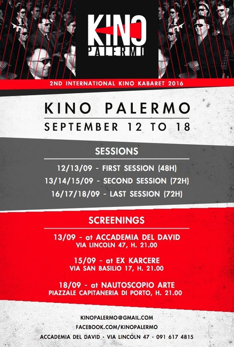 Via festival Kino, filmmakers a Palermo