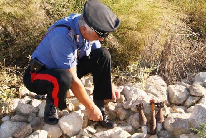 Ritrovati ordigni bellici nel Ragusano