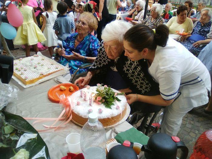 Ha compiuto 111 anni nonna della Liguria