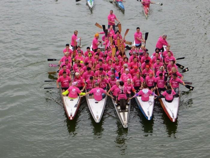 Onda rosa sull'Arno