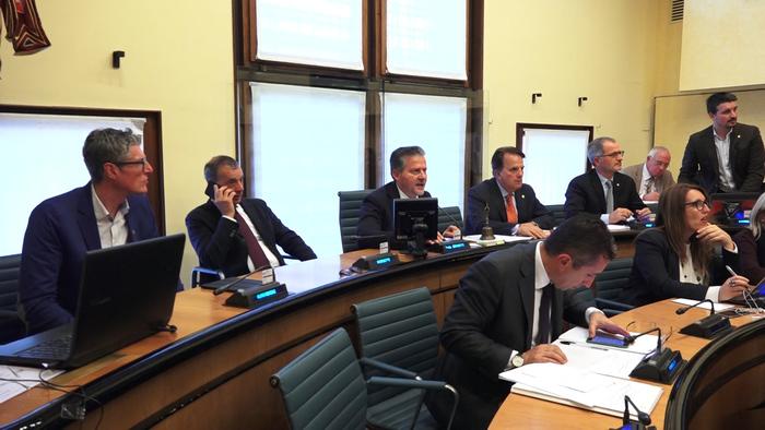 Crv rinnovato l 39 ufficio di presidenza press release for Ufficio presidenza