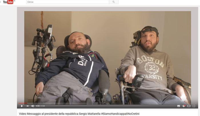 I disabili siciliani e l'appello a Mattarella$