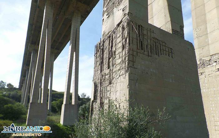 Agrigento, chiuso il controverso viadotto