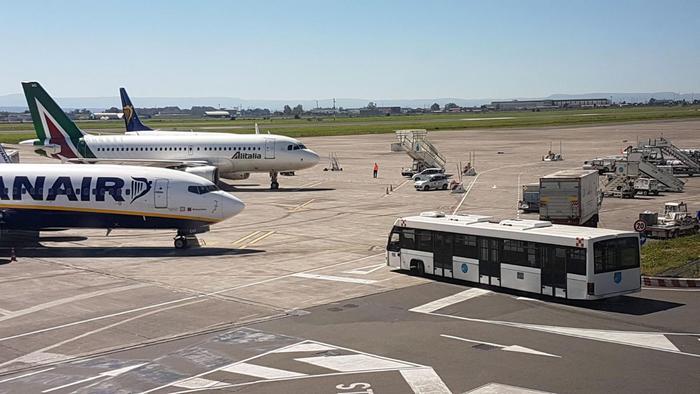Etna, tornato pienamente operativo aeroporto di Catania$