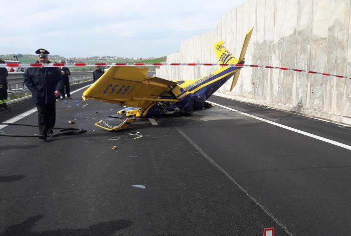 Trapani, precipita ultraleggero: morto il pilota $