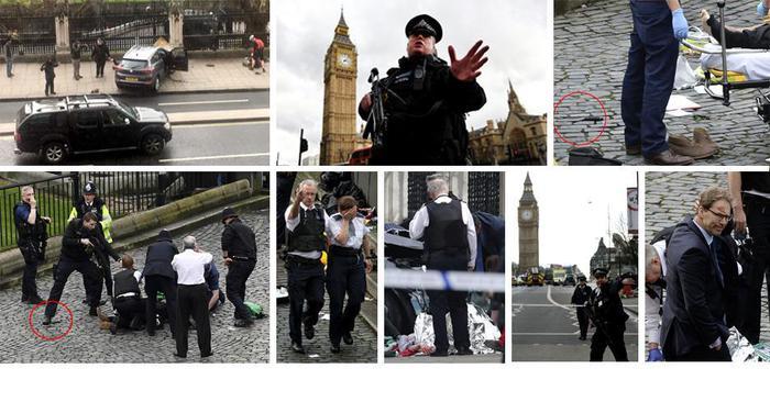 Работу английского парламента остановили из-за стрельбы