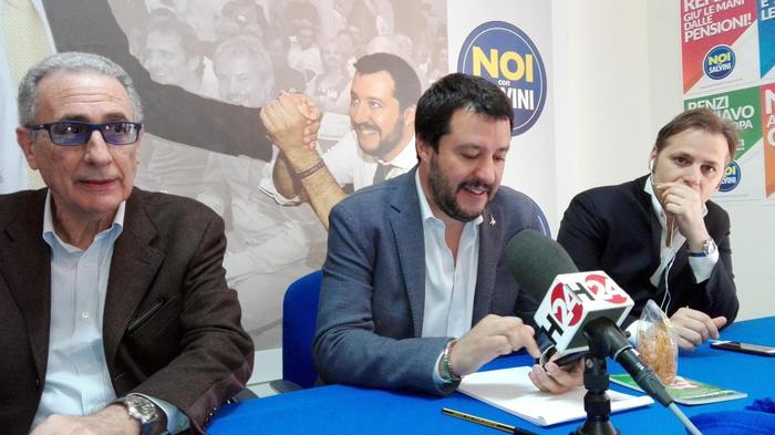 Salvini a Catania: