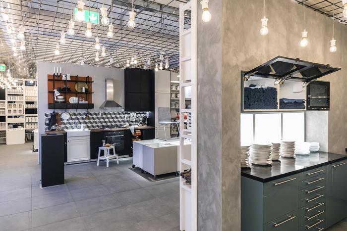 Roma apre primo pop up store cucine ikea moda - Bancone da cucina ikea ...