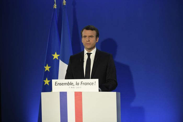 Francia: Macron presidente col 65%