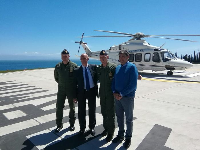 G7, inaugurata prima elipista a Taormina$