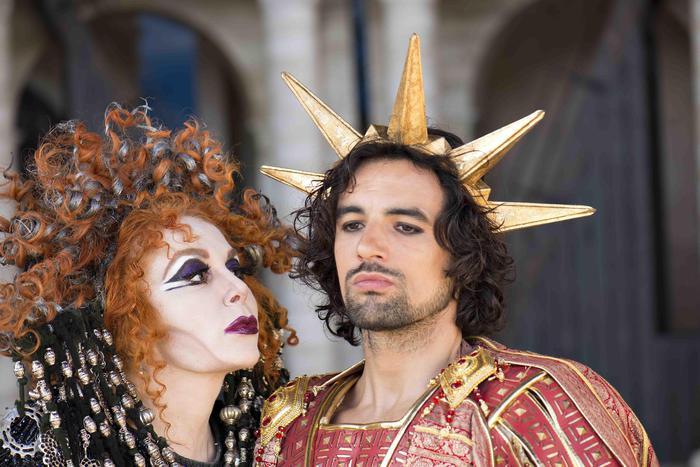 Colossal nero rock opera debuts in rome lifestyle - Divo nerone youtube ...