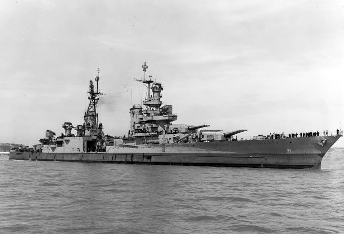 Trovato il relitto della Uss Indianapolis, portò pezzi bomba Hiroshima FOTO - Mondo