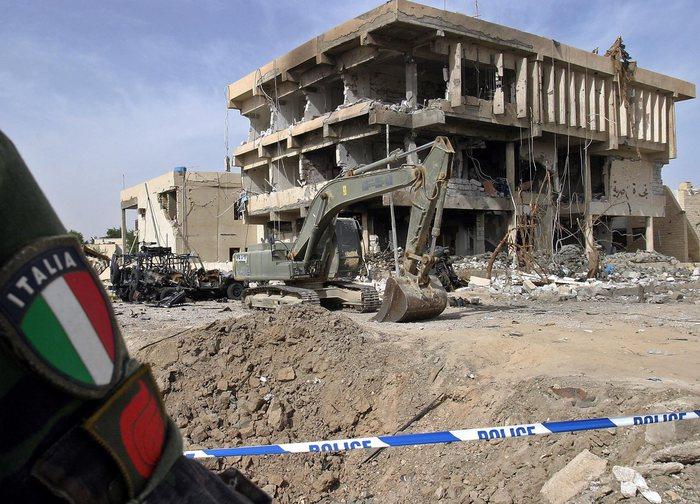 Il 12 novembre 2003 l'attentato a Nassiriya