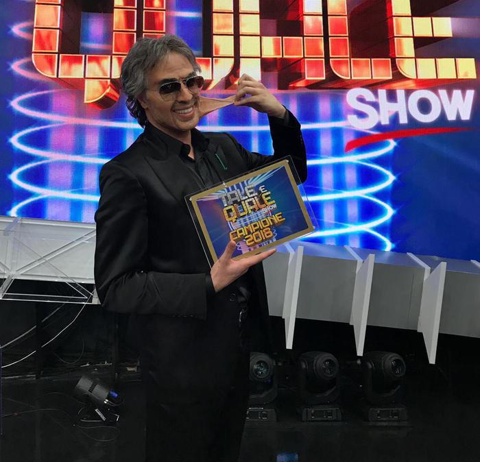 Angelucci vince Tale e quale show