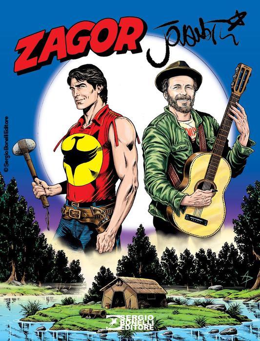 Jovanotti e Zagor, una storia a fumetti - Musica
