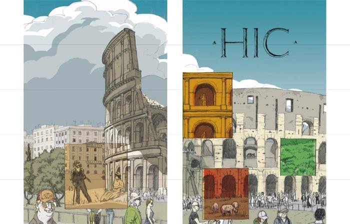 Fumetti nei musei, 22 albi d'autore - Arte
