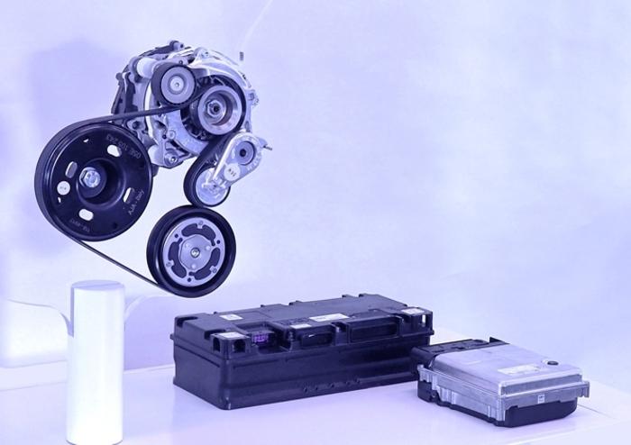 volkswagen punta su mild hybrid 48 volt gi da prossima. Black Bedroom Furniture Sets. Home Design Ideas