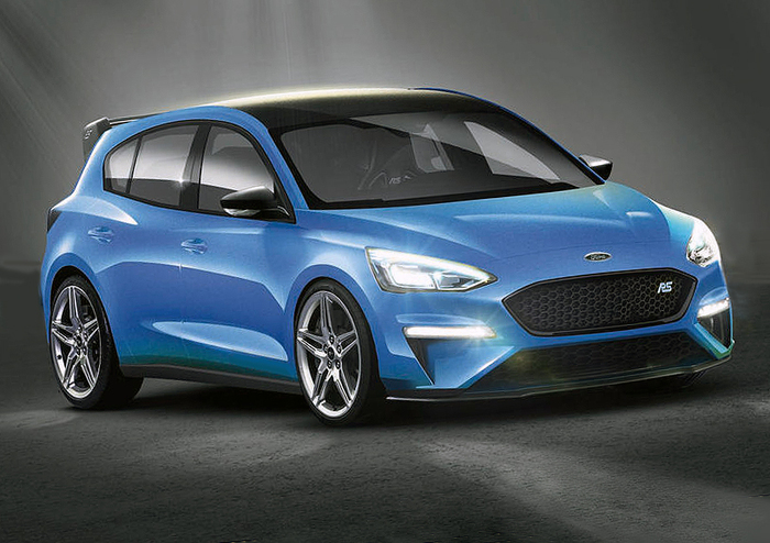 nella gamma futura ford focus una rs mild hybrid 400 cv prove e novit. Black Bedroom Furniture Sets. Home Design Ideas