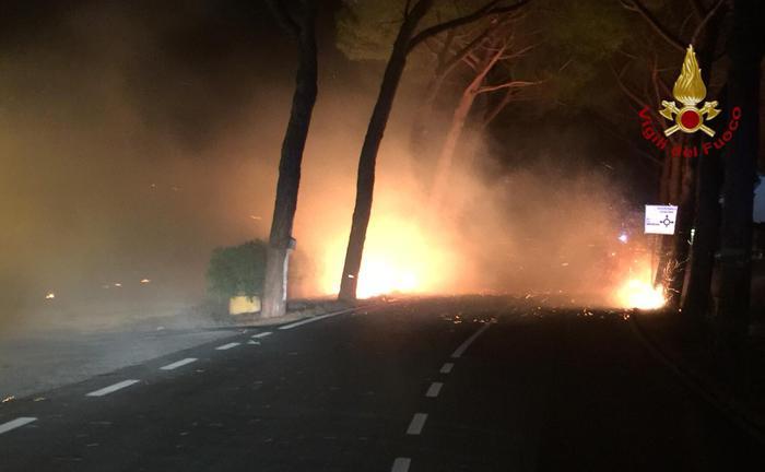 LimeMagazine.eu Pisa: vasto incendio, 700 gli sfollati, si indaga per dolo