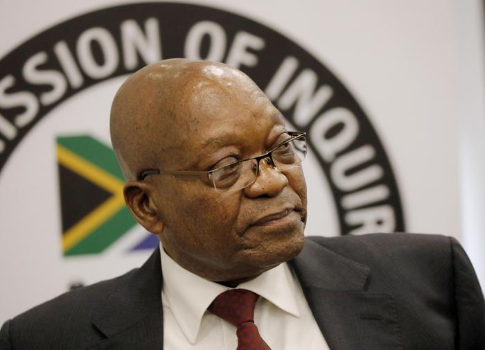 Sudafrica, ex presidente Zuma a processo