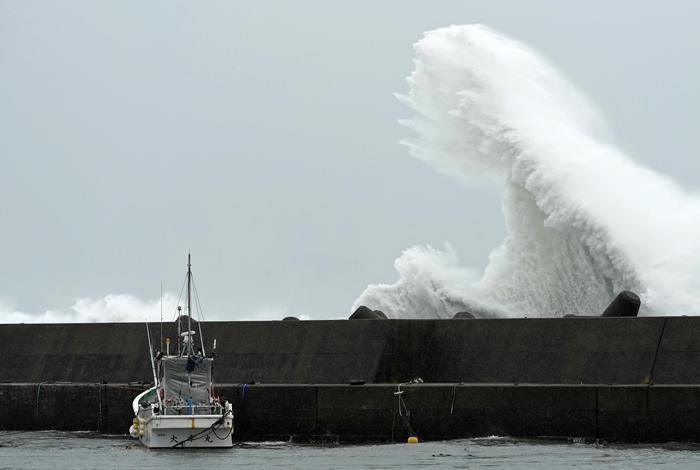 Tifone Higibis colpisce sud-ovest Tokyo