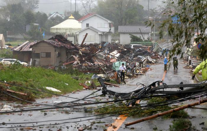 Tifone Hagibis, secondo morto Giappone