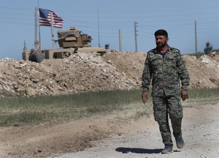 L' esercito di Damasco entra a Manbij