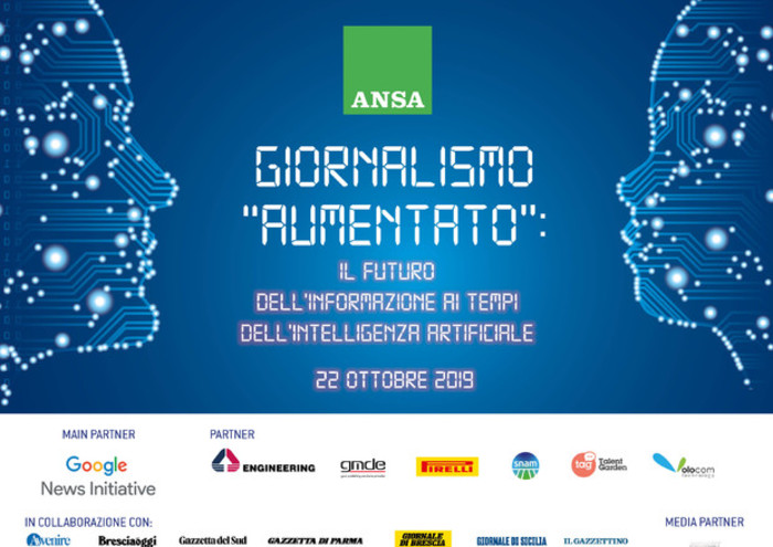 Editoria Intelligenza Artificiale E Giornalismo Aumentato Speciali Ansa It