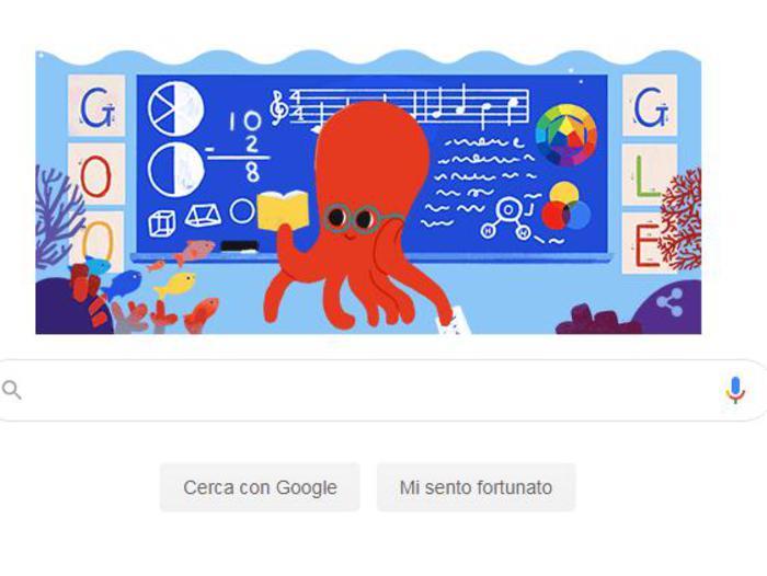 Giornata Mondiale degli Insegnanti, il doodle di Google