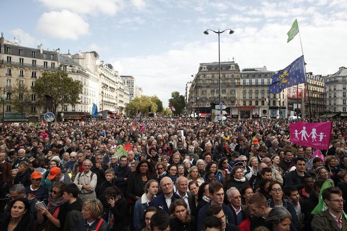Parigi, guerra cifre su Manif pour tous
