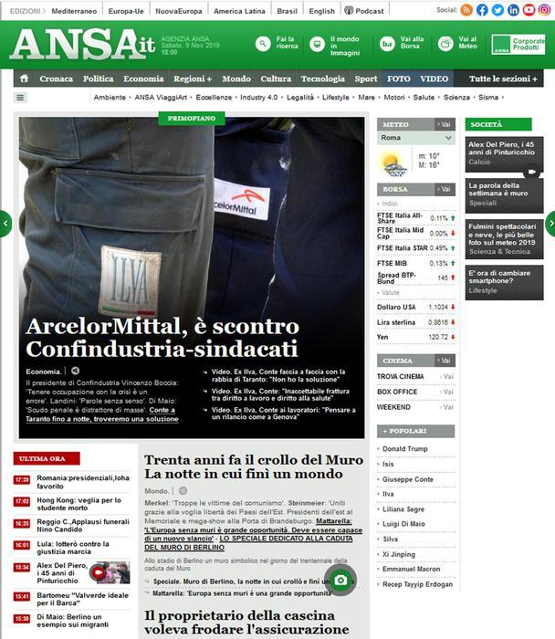 ANSA.it miglior sito news Macchianera