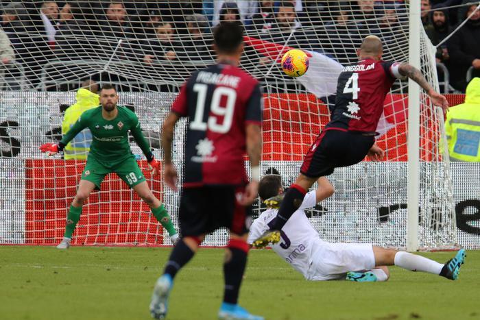 Serie A: Cagliari-Fiorentina 5-2