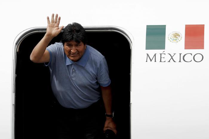 Morales in Messico,continueremo la lotta